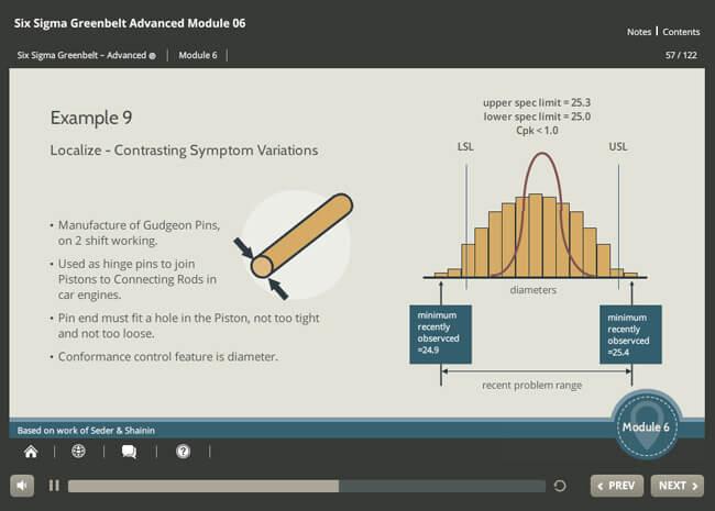 Six Sigma Green Belt Advanced (level 1 & 2) Screenshot 2