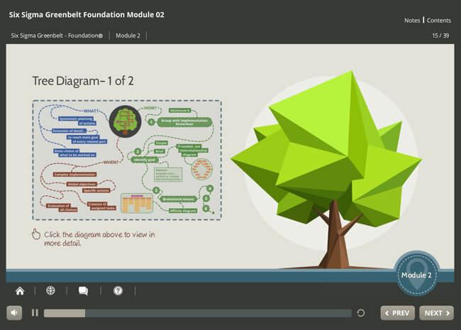 Six Sigma Green Belt Foundation Screenshot 6