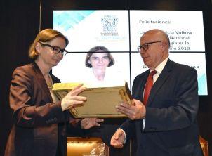 Patricia Amalia Volkow Fernández recibe el Premio a la Médica del Año 2018 / Especial