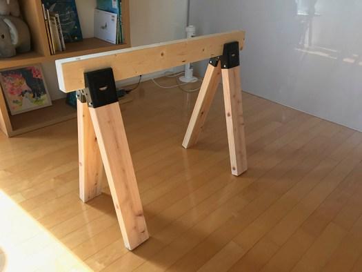 ソーホース ブラケット | 木材 | 麻布アトリエ ブログ