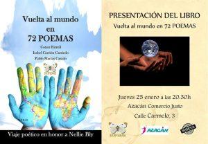 """Presentación del libro """"Vuelta al mundo en 72 poemas"""" @ Tienda Azacán"""