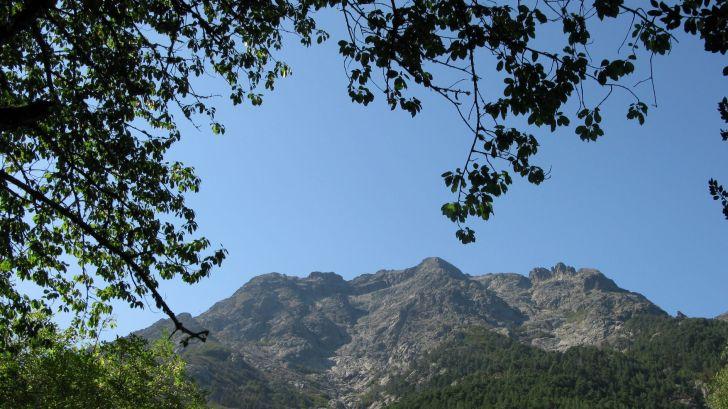 Le Monte d'Oro, proche de Vizzavona