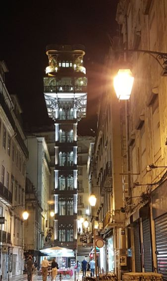 Lisbonne ascenceur Santa Justa