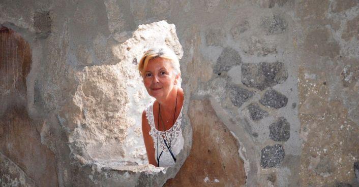 Brigitte perce les secrets de Pompei