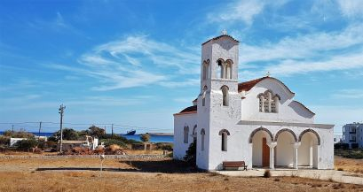 Petite église à Diakofti