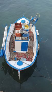Kassos, barque grand confort.