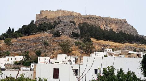 La forteresse (Lindos - Rhodes)