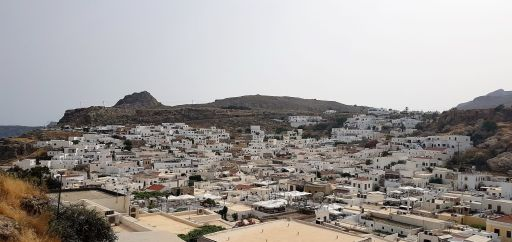 Lindos, village blanc