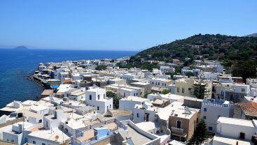 Ville de Mandraki sur Nisyros