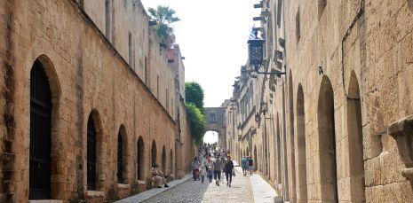 Rue de chevaliers (Rhodes)