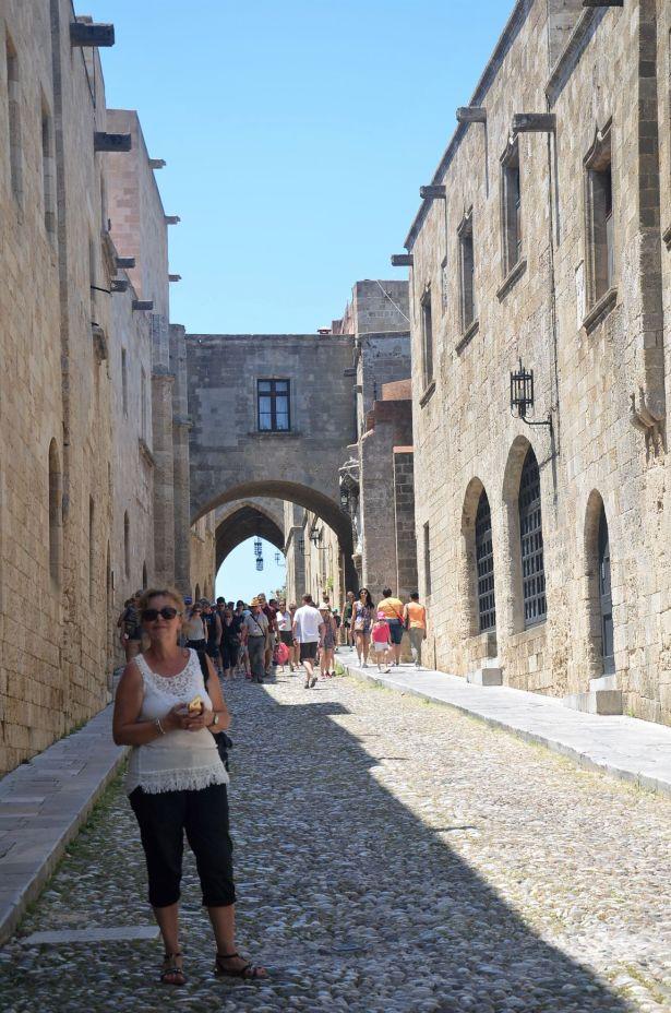 Rue des chevaliers (Rhodes)
