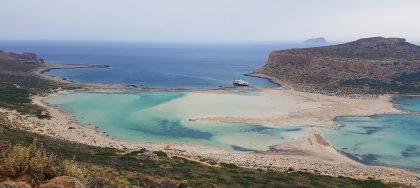 baie de Balos, NW de la Crète.