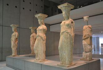 Les Caryatides Athènes 2020