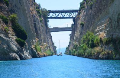 canal de Corinthe - 2020