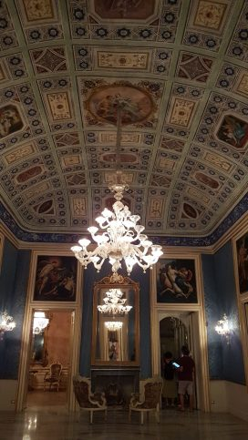 Palazzo Borgia, somptueux à l'intérieur. Syracuse - 2020