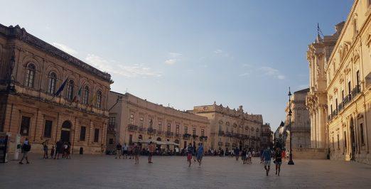 Piazza Duomo Syracuse - Sicile 2020