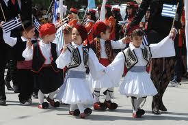 Les enfants participent activement. Karystos
