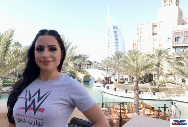 WWE® SIGNS FIRST FEMALE TALENT FROM THE MIDDLE EAST TO DEVELOPMENTAL CONTRACT