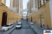 Clouds installation at JBR create WOW moments(2)