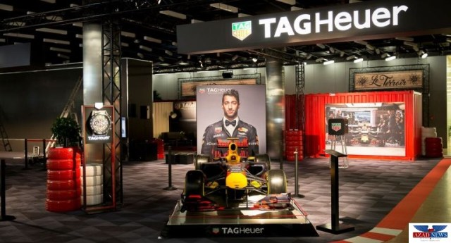 Geneva International Motor Show 2018 TAG Heuer Exhibition