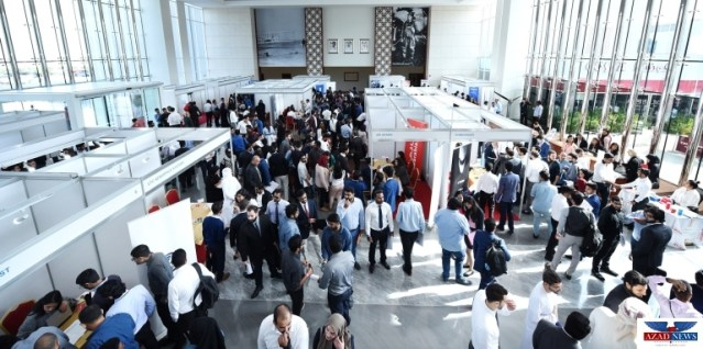 Emirates Aviation University Career Fair connects students with international companies