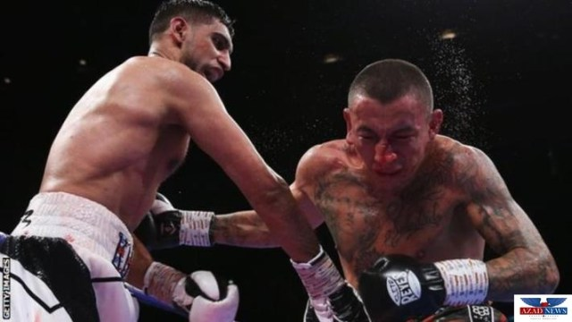 SARDAR USMAN BAZDAR CONGRATULES PAKISTANI BOXER AMIR KHAN FOR HIS VICTORY IN SUPER WELTERWEIGHT COMPETITION