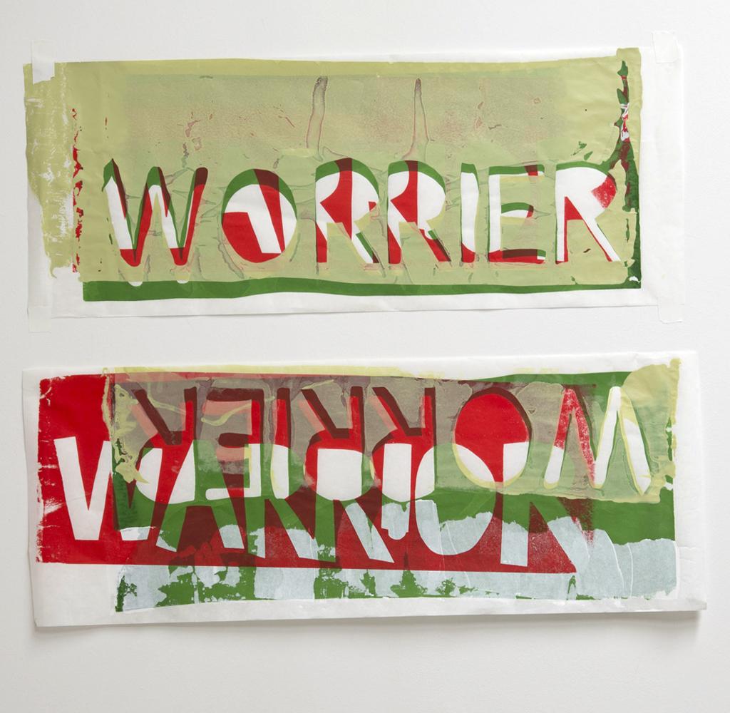 WARRIOR/WORRIER