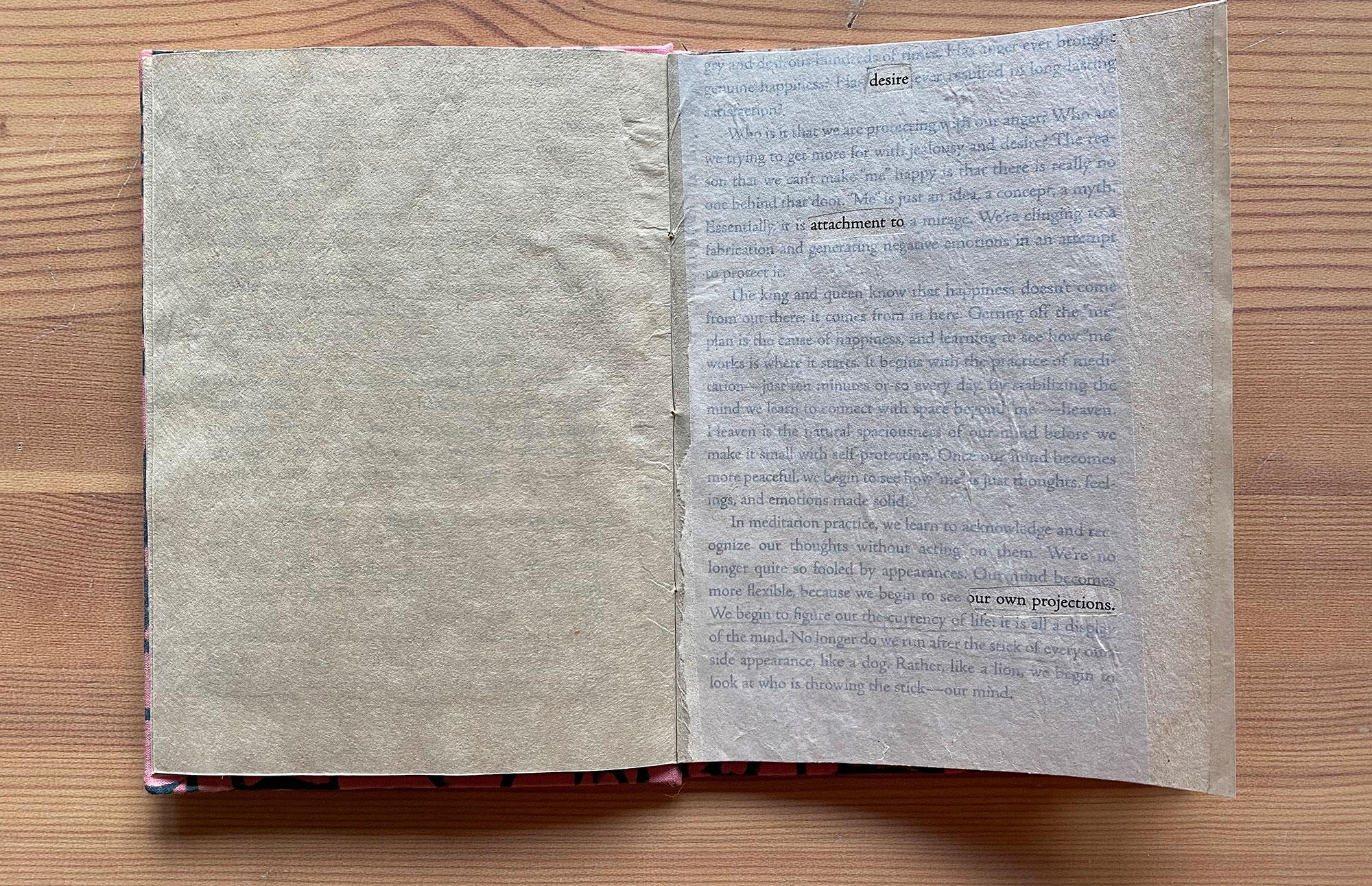 erasure book page