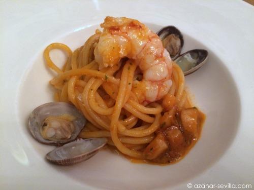 sahumo seafood pasta
