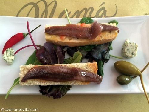mama bistro anchovies