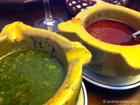 el churrasco salsas