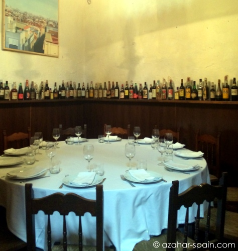 carbona private dining room