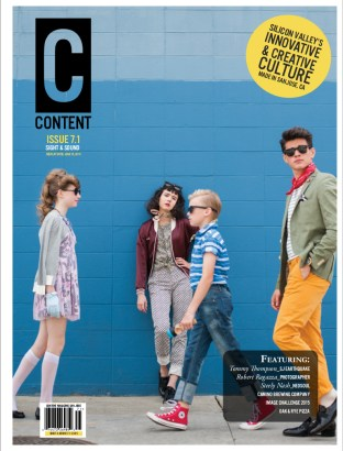 Content Magazine New Faces Feature for Issue 7.1