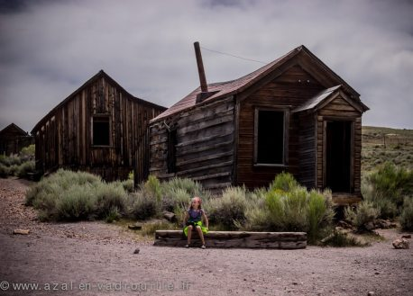 Bodie, ghost town of the gold rush, California.
