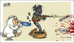 السعودية تنفق اموال النفط على الارهابيين في العراق وسوريا