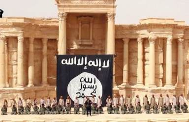 تدمر، داعش، إعدام سوريين