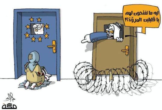 كاريكاتير الرسام السعودي عبد الله جابر