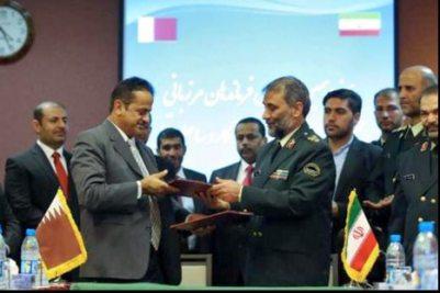 قطر ايران، توقيع اتفاقية بين ايران وقطر 467x312.bmp