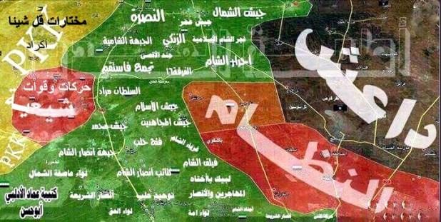 خريطة سورية، الحرب السورية 722x363.bmp
