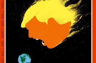 ترامب، غلاف مجلة