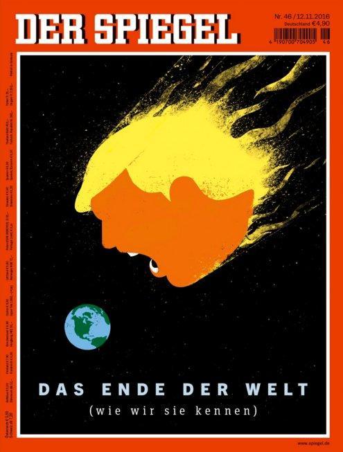غلاف دير شبيغل: هذه نهاية العالم