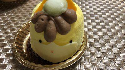 ぐんまちゃんケーキ