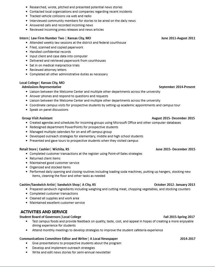 Sandwich Artist Job Description Resume - Contegri.com