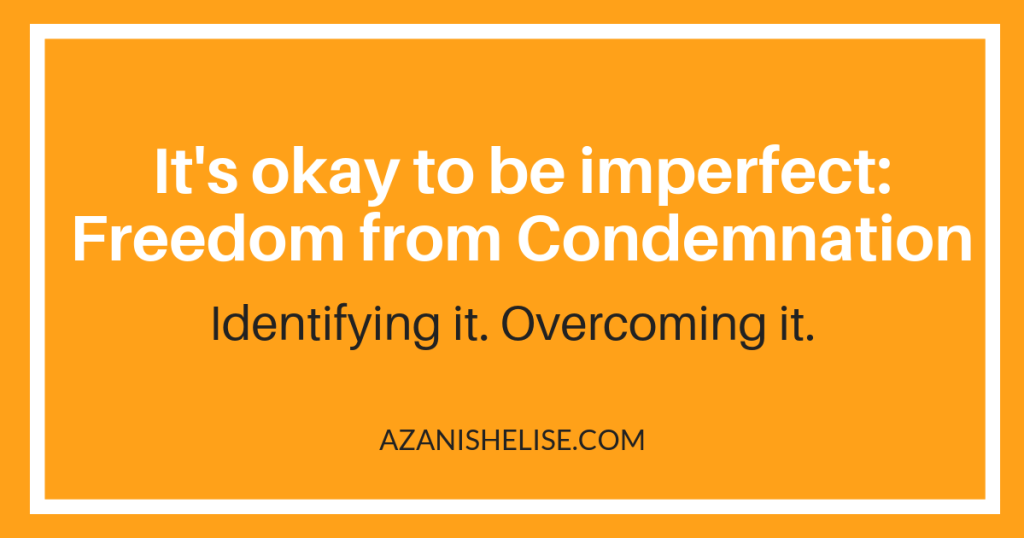 Overcoming shame and condemnation graphic