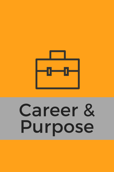 Career blog Purpose blog button