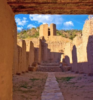 Interior of San Jose de los Jemez Mission Church (image courtesy of Theodore Greer Photography