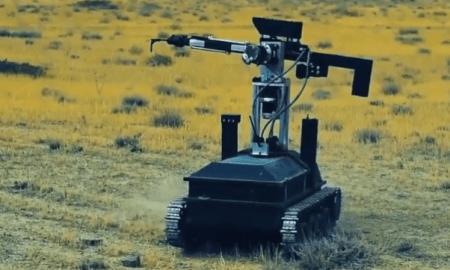 Հայկական ռոբոտը շփման գծում՝ զինվորի փոխարեն