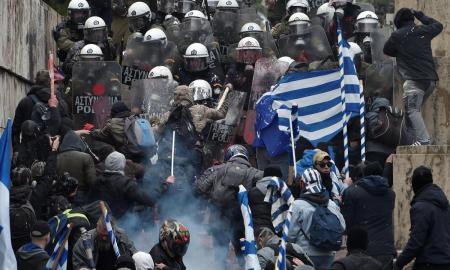 Աթենքում ոստիկանների և ցուցարարների միջև բախումներ են տեղի ունեցել