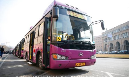 Ավտոբուսների վարորդները հրաժարվել են երթուղի դուրս գալ
