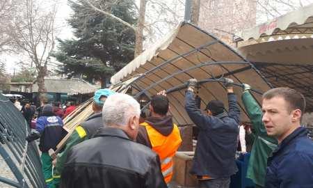 Ապամոնտաժվում են Օպերայի շենքին հարակից սրճարանները